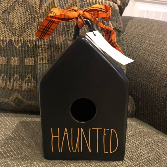 Very Hard To Find Rae Dunn Haunted Birdhouse